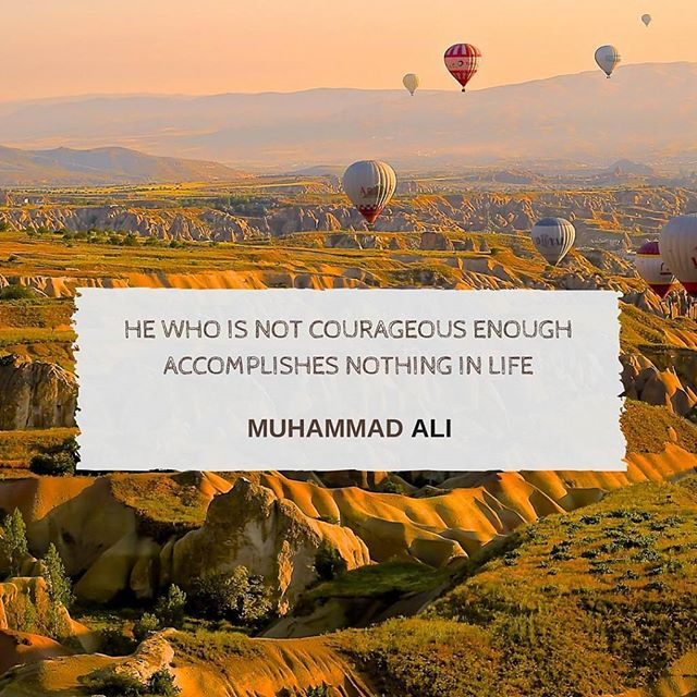#Mondays #Inspiration #MuhammadAli #Courage #Life #Accomplishments #RIP #Horizon #Balloons #HotAirBallons