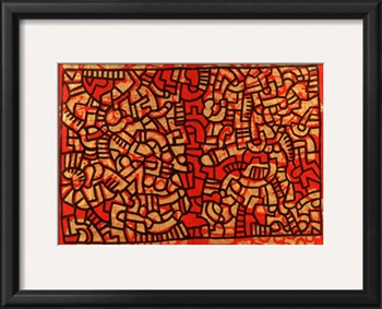 Untitled, 1979 by Keith Haring. Image via Art.com.