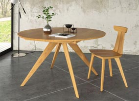 The Catalina Dining Collection via Copeland Furniture. Image Source: Copeland Furniture