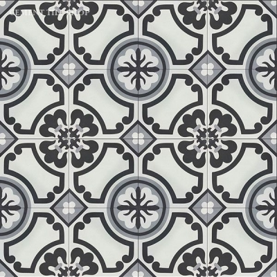 Source: Cement Tile Shop  - Lafayette Tile  (12 8x8 tiles per box = $82.80, Est. for 1,100 sq. ft. / ~209 boxes = $17,305.20)