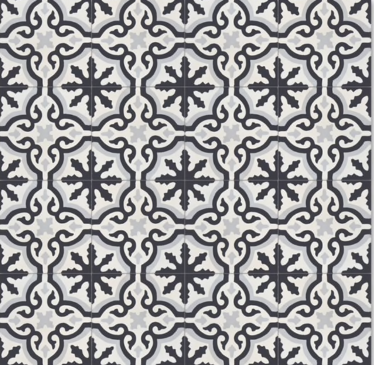 Source:  Overstock  - Argana Tile  (12 8x8 tiles per box =  $92.49,   Est. fo  r 1,100 sq. ft. / ~209 boxes =   $19,330.41 )