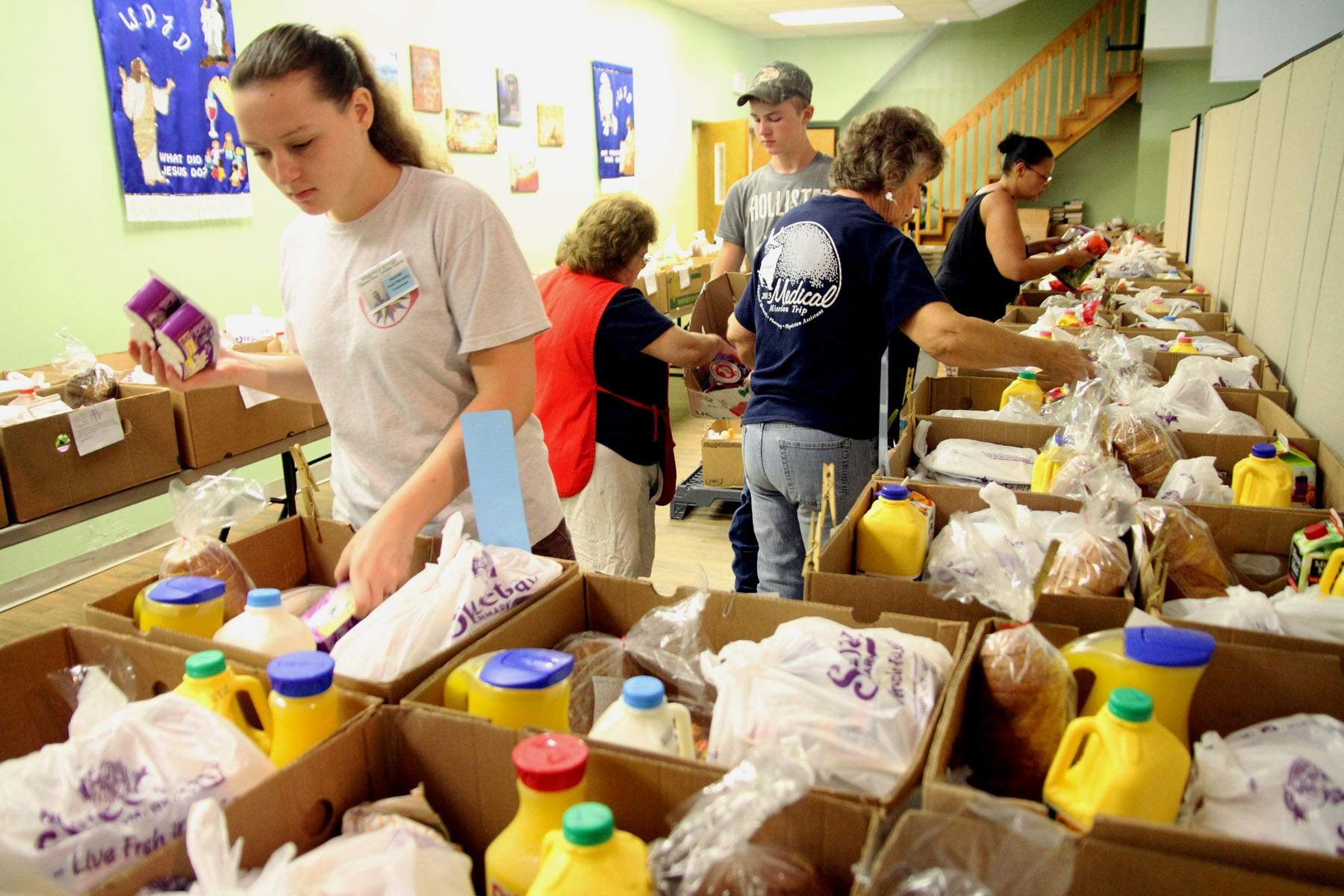 generosity service day at cots through jump — seawolf living