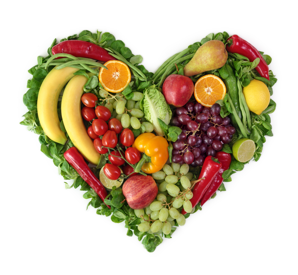An image of healthy foods