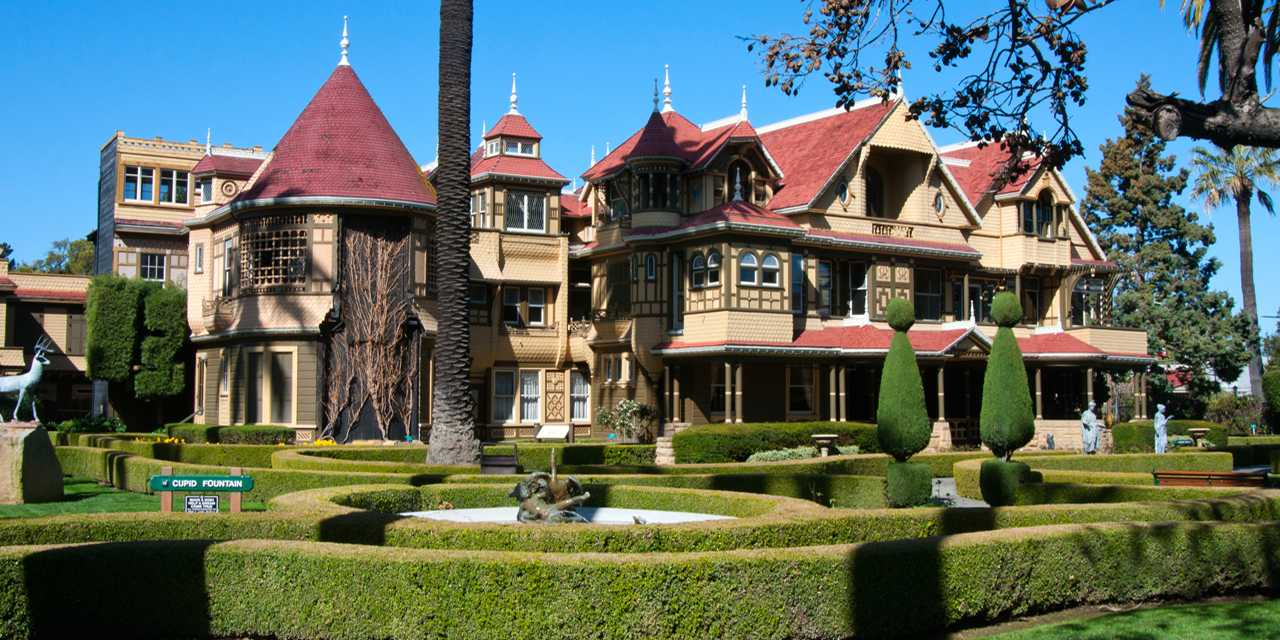 Image result for winchester mystery house