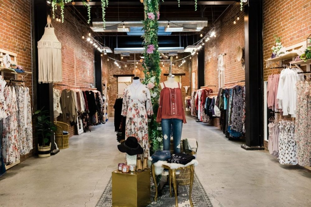 If your style is effortlessly cool, modern and bohemian, Ooh La Luxe will be your new haven for whimsical, on-trend dresses, shoes and accessories. They have three locations in Petaluma, Santa Rosa and Healdsburg.