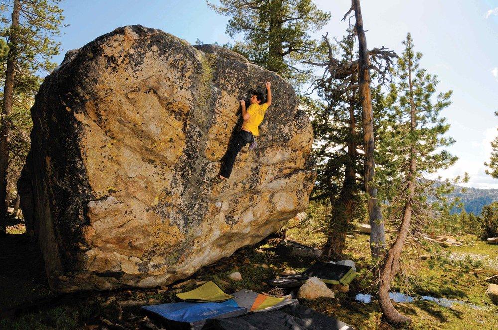 Sep 21-22   Tahoe Bouldering