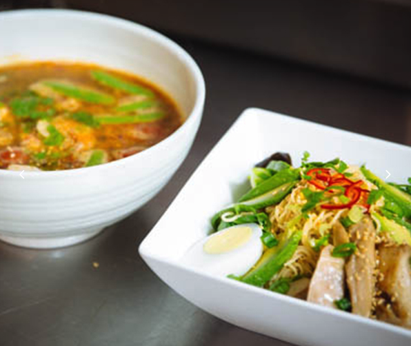 Cooler temperatures means it's time to indulge in some quality comfort. SEA Noodle Bar in Santa Rosa serves locally sourced Thai dishes perfect for chilly days.