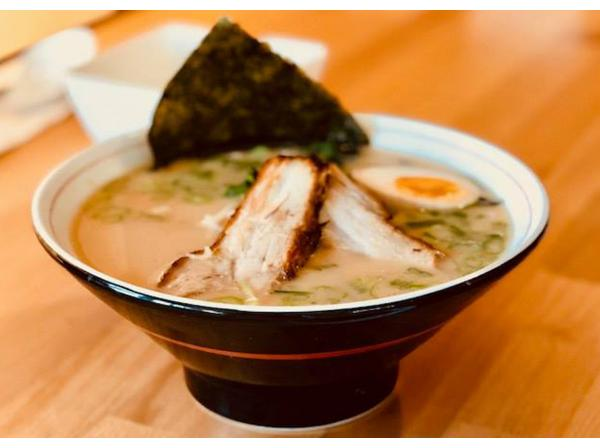 Enjoy authentic (and comforting) ramen and sushi at Raku Ramon & Rolls in Santa Rosa. This place gets bonus points for being vegan and vegetarian friendly.