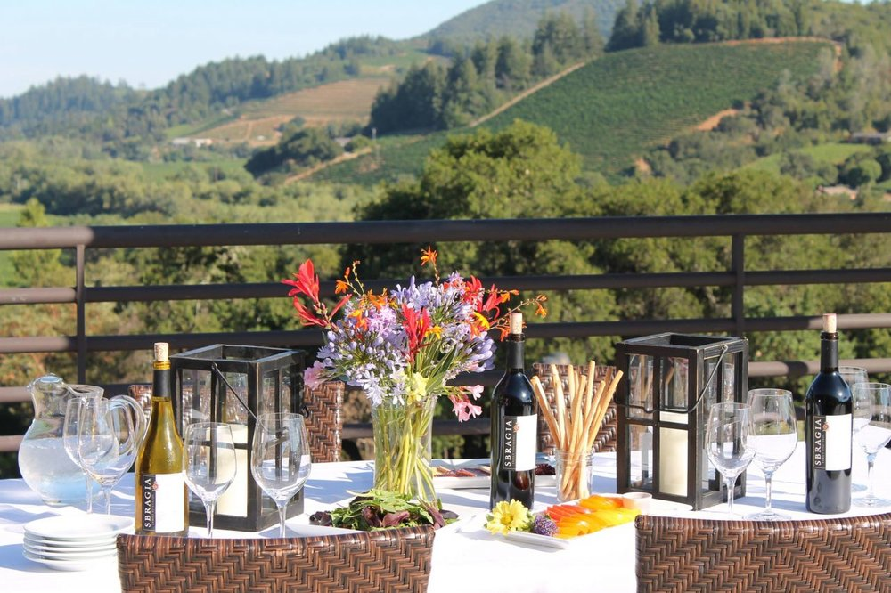 Each week, Sbragia's Estate Chef is cooking up something delicious. For $20, get a full meal with a view.