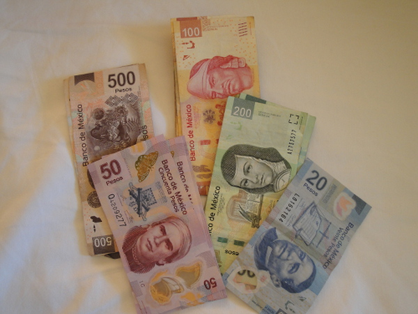 When you begin to think in terms of pesos, things become less confusing.