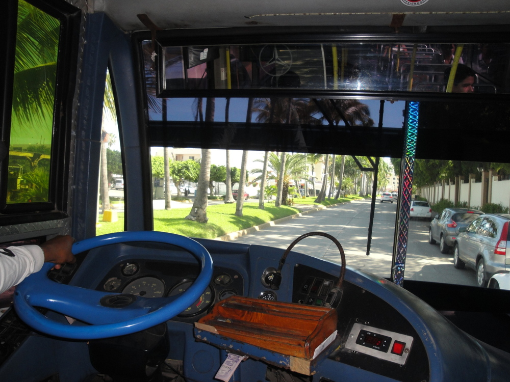 Buses, taxis and water taxis are the popular modes of transportation for the part-time expat