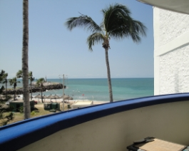 apartment view in Mexico