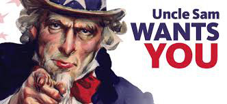 Uncle Sam Wants You....even if you've found someone else.