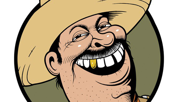 The logo for the syndicated column is a little strange, as I have never met any Mexicans with gold teeth in Mexico. Dentists here are very good. Maybe it's a L.A. thing.