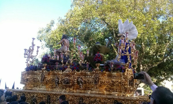 - Scenes from Semana Santa in Seville, Spain, sent by one of my Spanish practice partners
