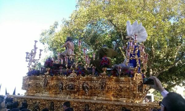 Scenes from Semana Santa in Seville, Spain 2016.