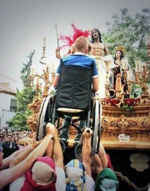 Easter celebration in Sevilla, Spain