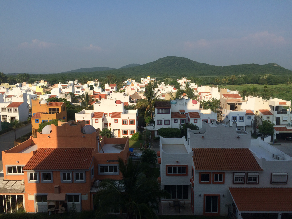 Middle class community, two blocks from the beach in Mazatlán