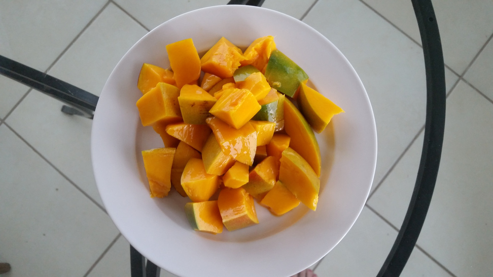 The perfect mango