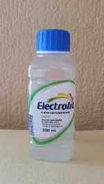 - Electrolyte drink sold in even the most humble of shops.