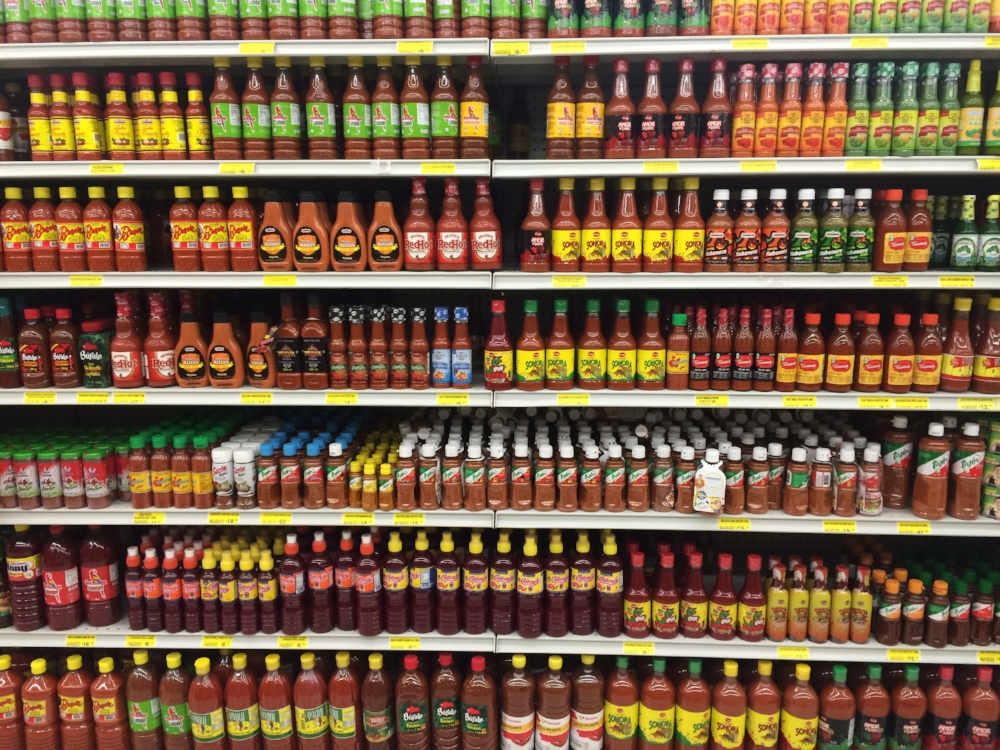 - Mexicans like their hot sauce.