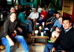 - Denver Spanish practice group. Most of the members are over 40.