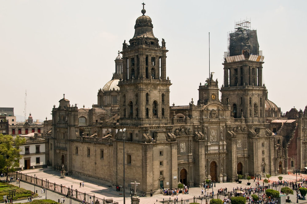 - Mexico City's Metropolitan Cathedral