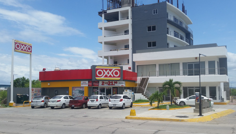 OXXO convenience store in mexico