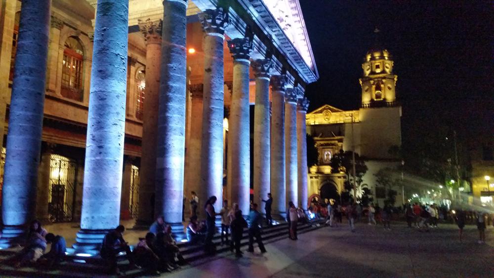 Teatro Degollado in Guadalajara -