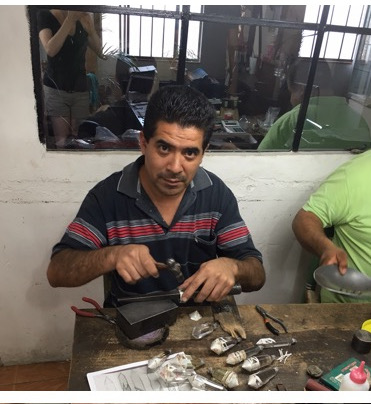 Artisan in Taxco -