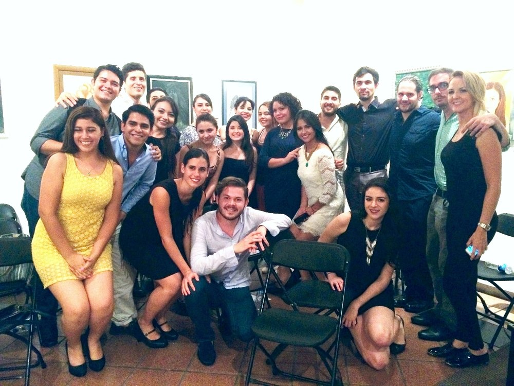 Future opera stars of Mexico