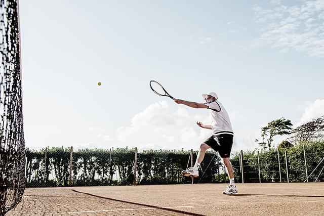 Langeland 8, tennis