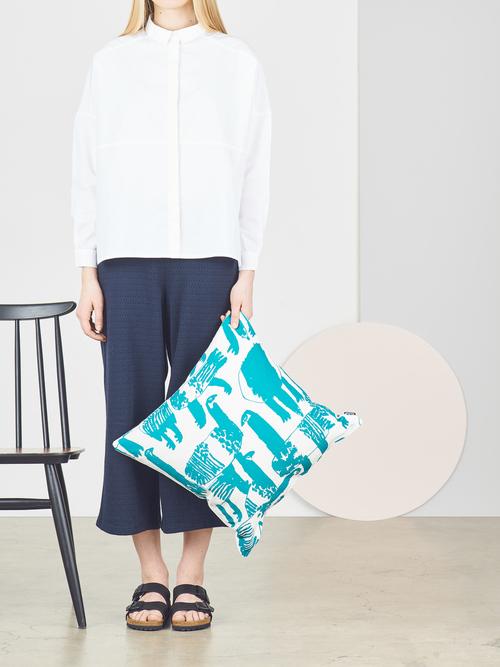 Lauttasaari+green+cushion+cover