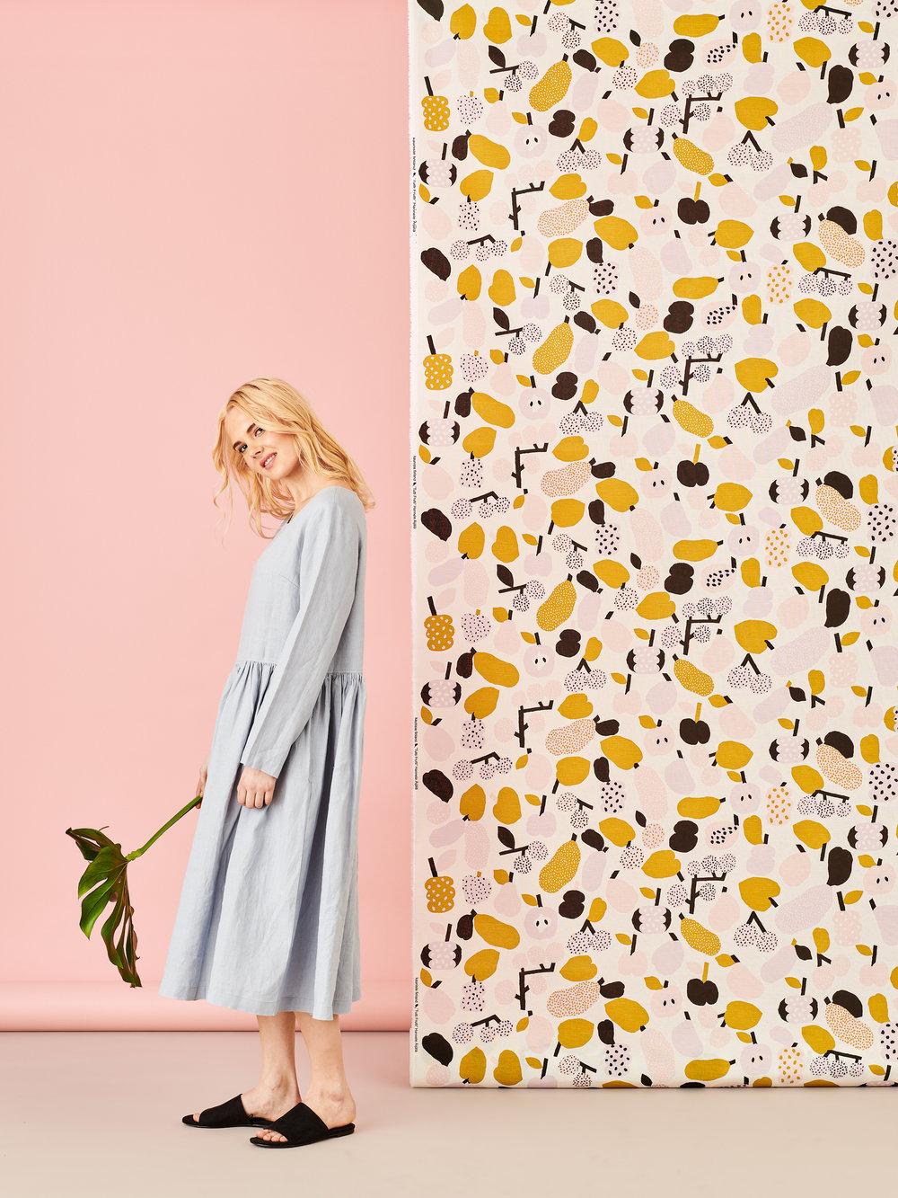 Tutti Frutti fabric by Kauniste Finland