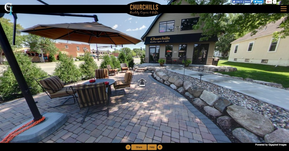 Churchills Virtual Tour - Click the image or this link to take the tour!