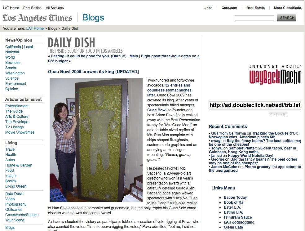 LA Times | Daily Dish