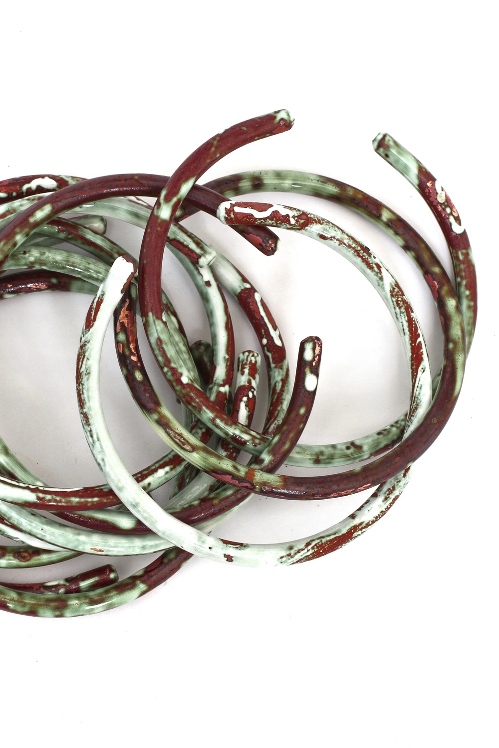 Liquid Enameled Bangles 3 for $45