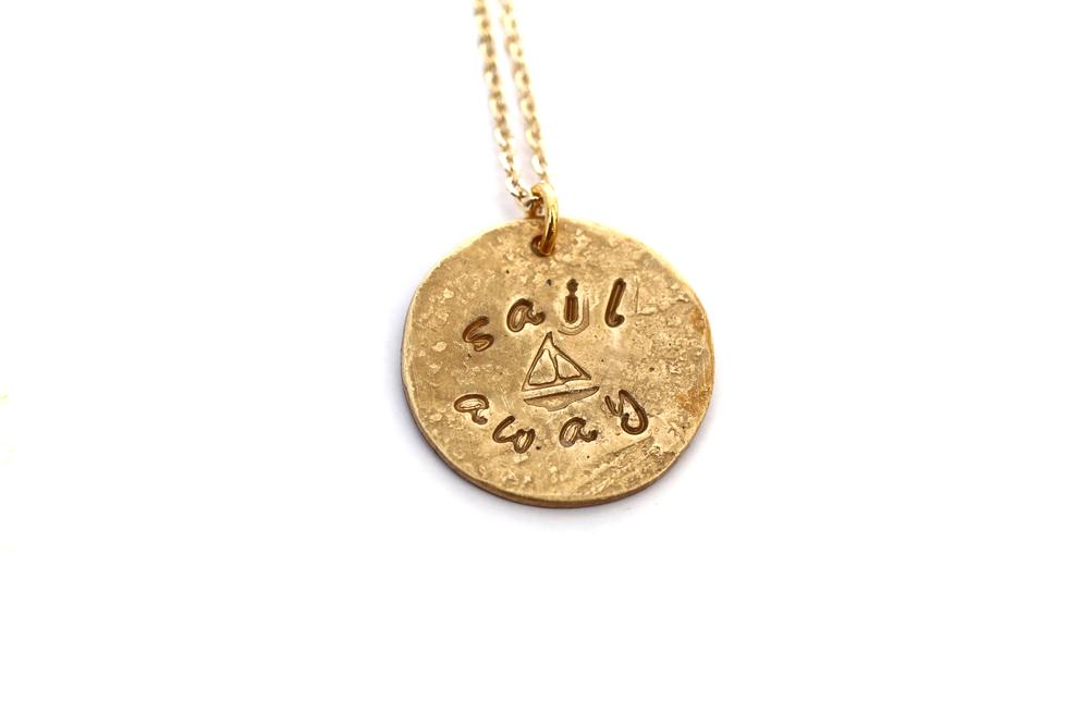 Custom Stamped Brass Charms $35