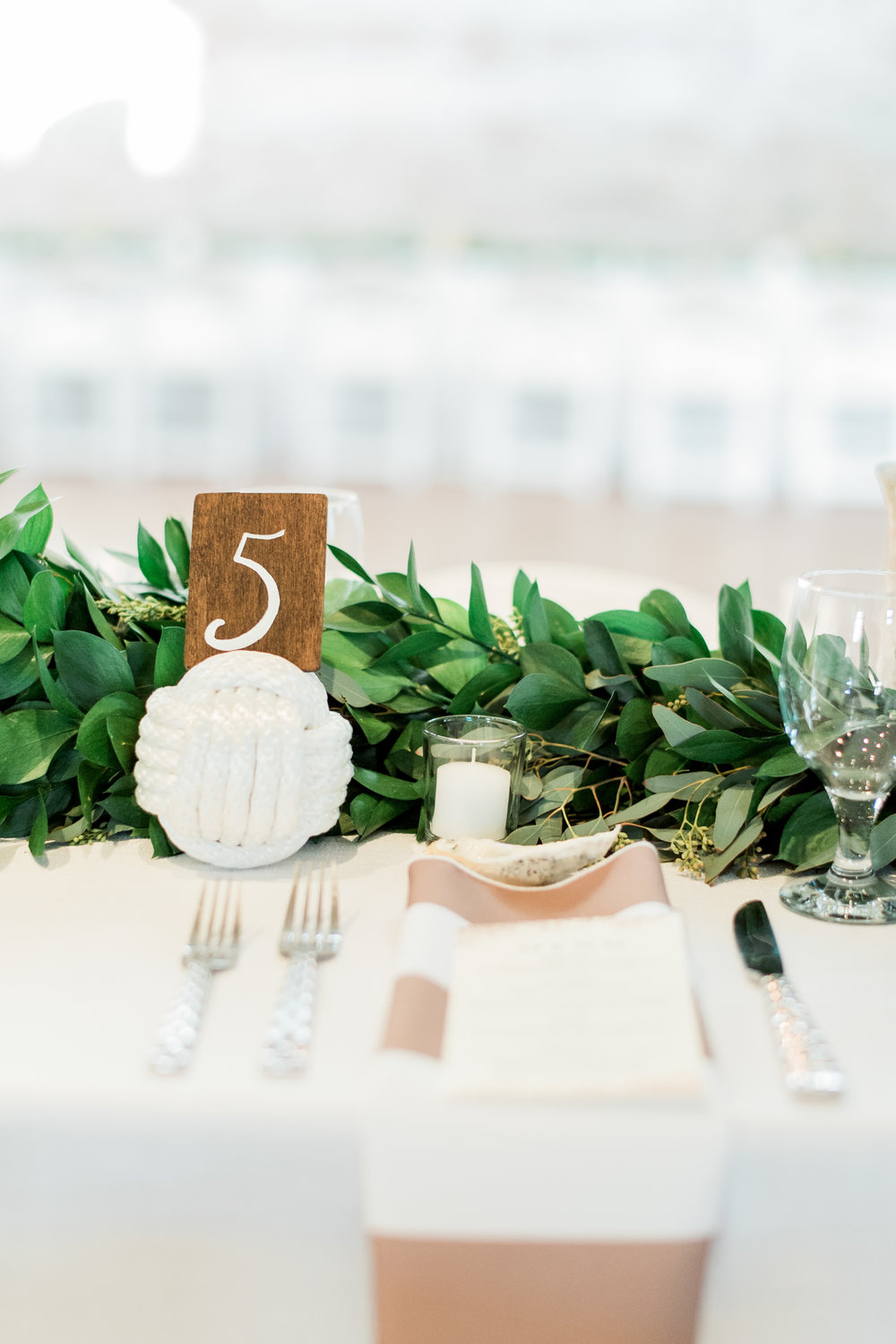 Custom table numbers for any event