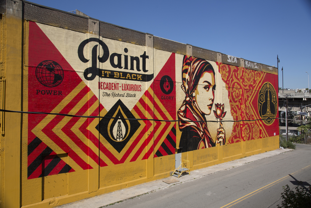 2015 Shepard Fairey — Mana Contemporary