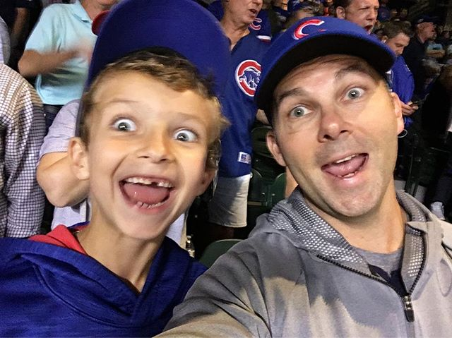 """""""... if they don't win it's a shame..."""" #cubs #everybodyin"""