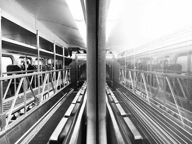 The Commuter, 10. #chicago #thecommuter #dailycommute #motion #blackandwhite