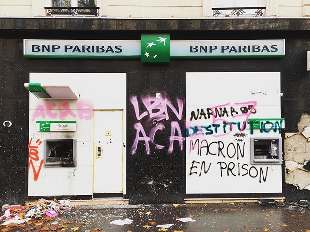 The tale of two days in Paris.