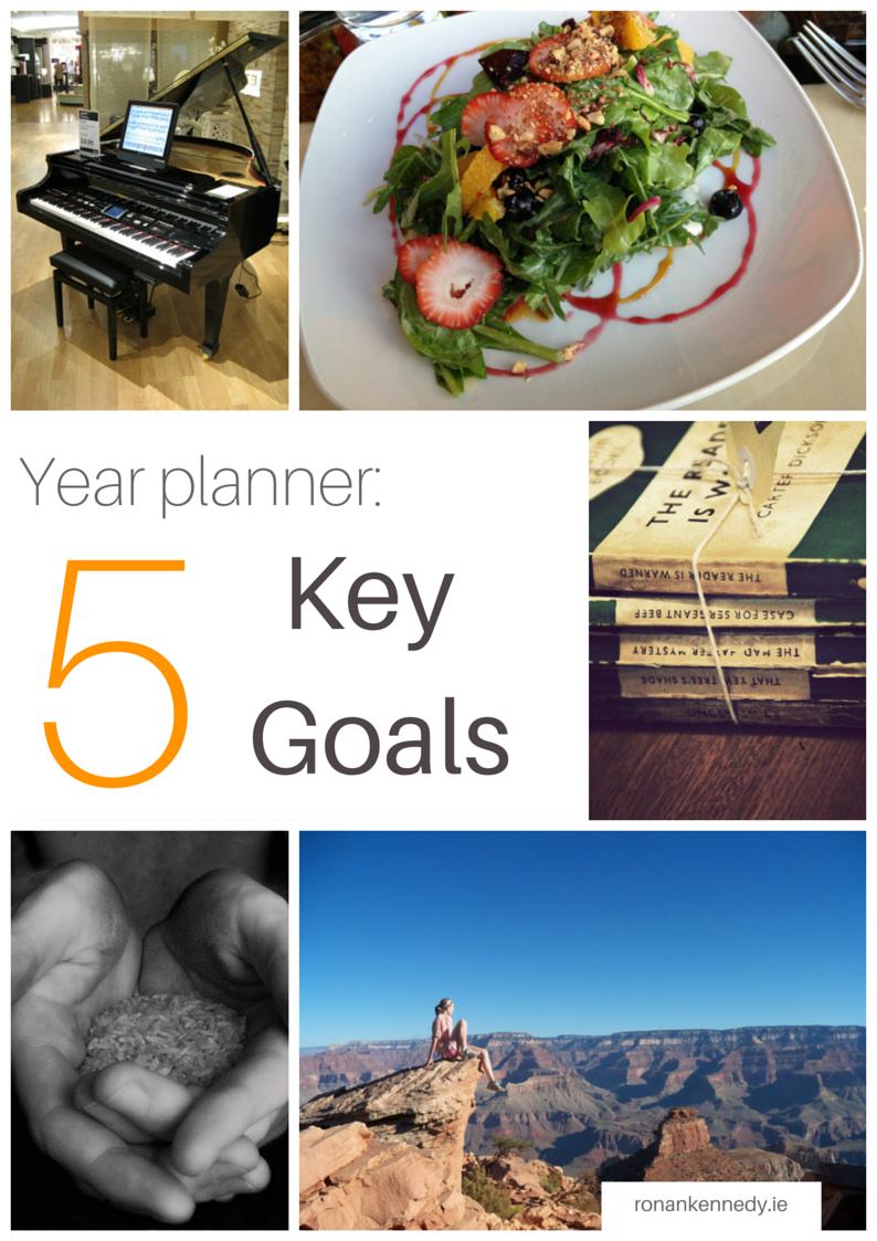 5 key goals