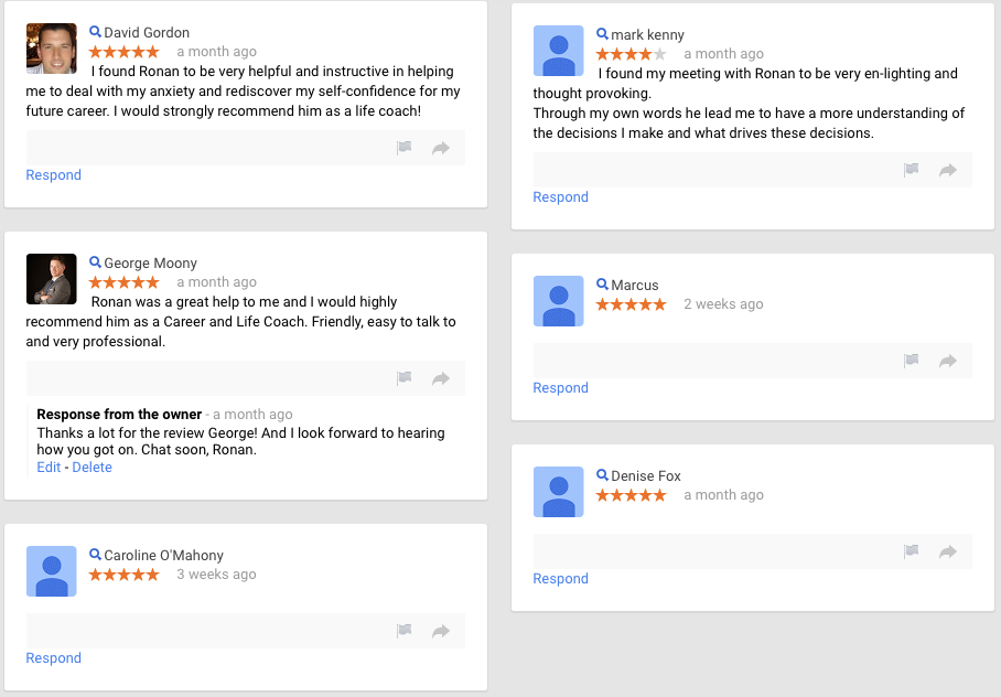 coaching reviews