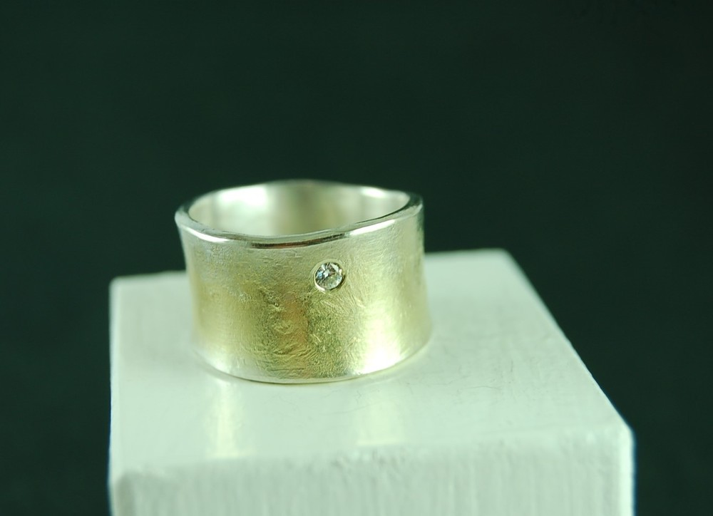 Ursula Grube recycled metal ring