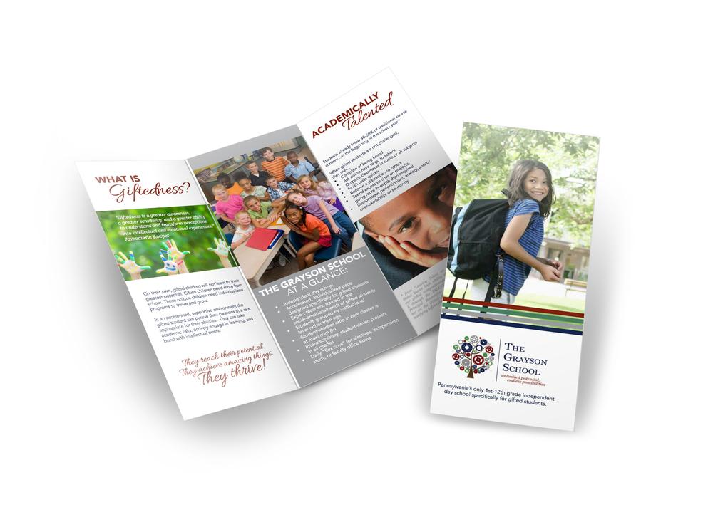 Print design, brochure design