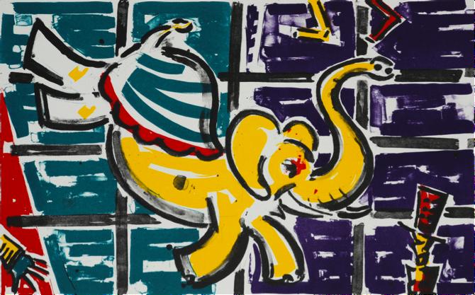 Michael Cullen, Capering Elephant