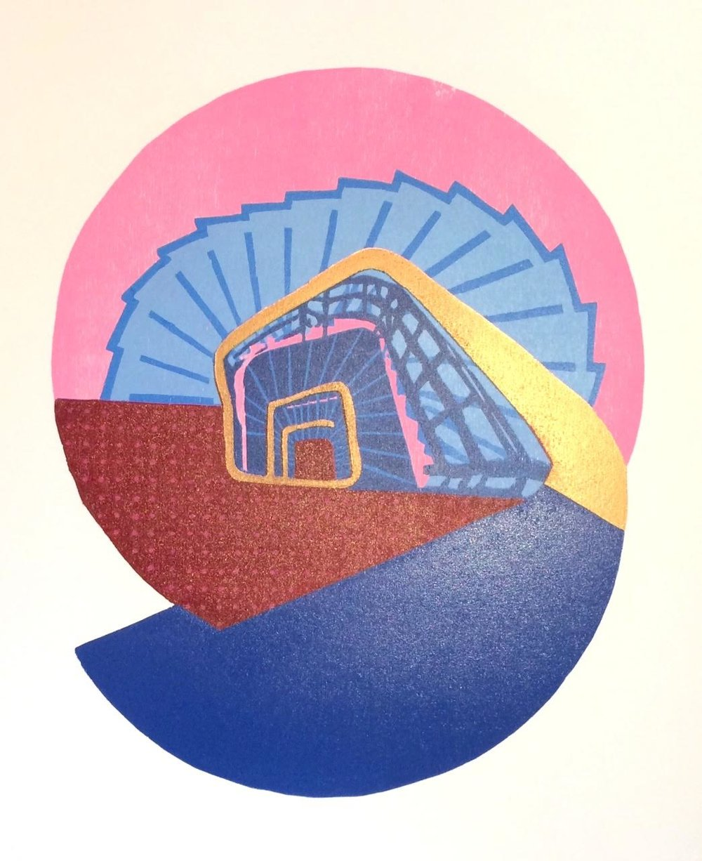 Gerard Cox, Spiral Stairs