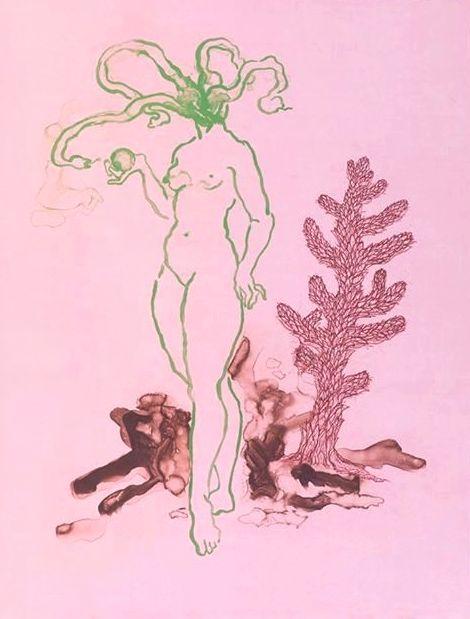 Alice Maher, La Mujer Sierpa.